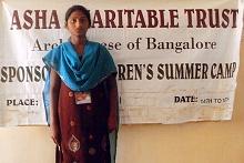 Adopce na dálku Sara Preethi