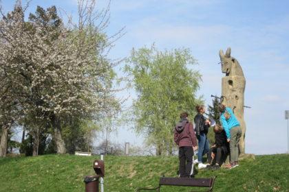 Úkoly u soch na Gothardě