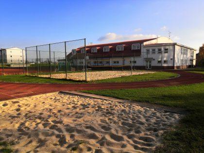 Gymnázium - sportovní areál